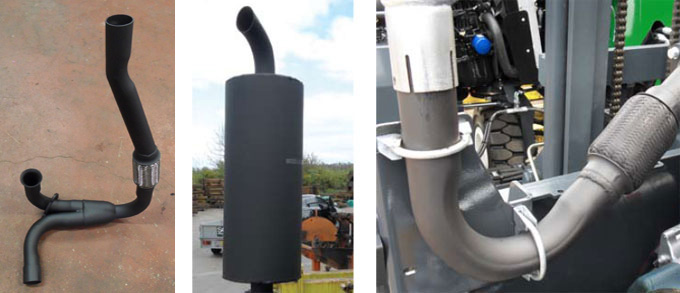 Forklift Exhausts from SCL Exhausts Ltd